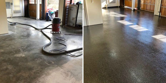 Garage Concrete Floor Coatings