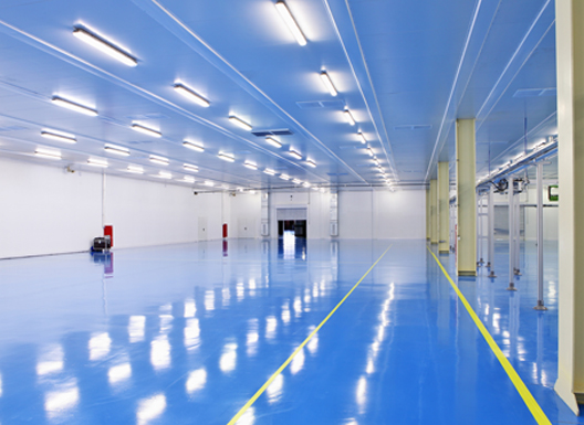 Industrial Epoxy Floor Covering