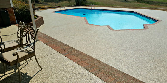concrete pool deck repair Dallas