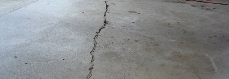 Expansion Concrete Cracks