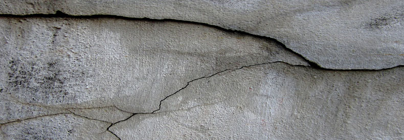 Plastic Shrinkage Concrete Cracks