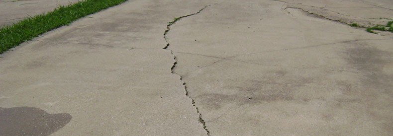 Settling Concrete Cracks