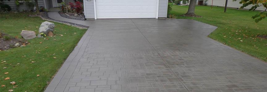 Concrete Driveway Crack Repair